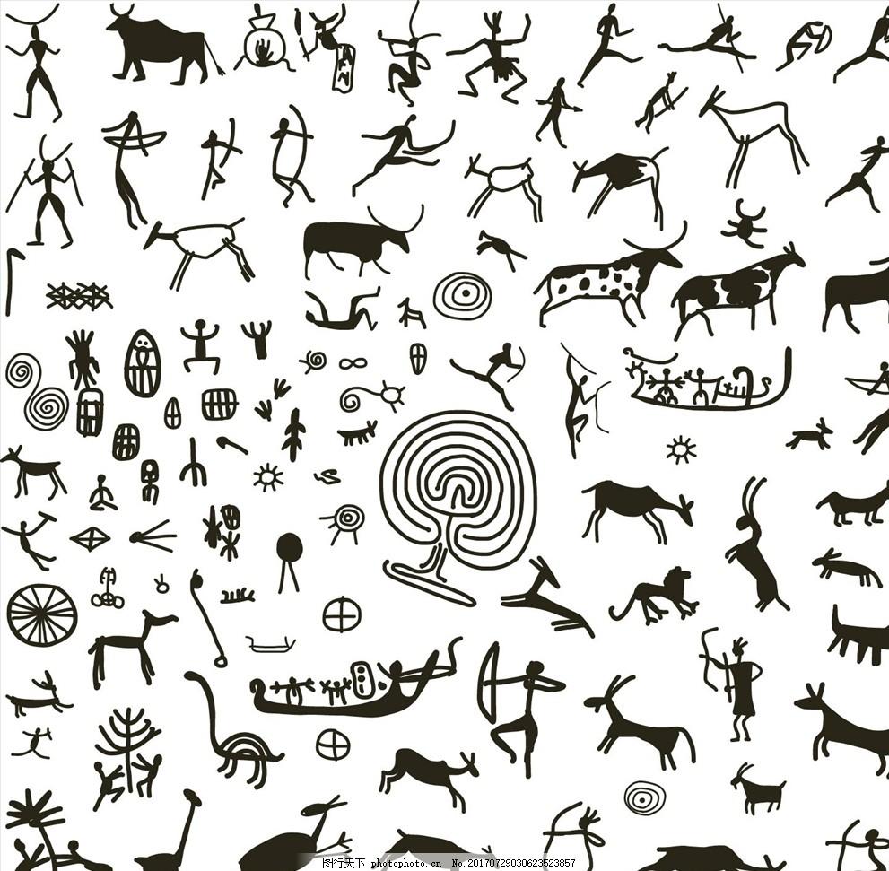 潮流服装印花 潮牌设计 面料印花 布料印花 贴纸图案 壁画 动物壁画