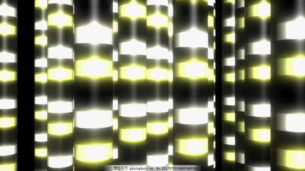 光柱元素视频背景 视频素材 视频模版 光柱视频