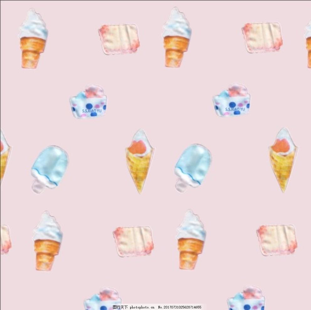 卡通甜点冰淇淋花版 卡通 甜点 冰淇淋 花版 q版卡通人物 卡通男孩