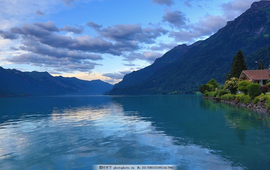 布里恩茨湖 唯美 风景 风光 旅行 自然 瑞士 欧洲 山水 山水之间