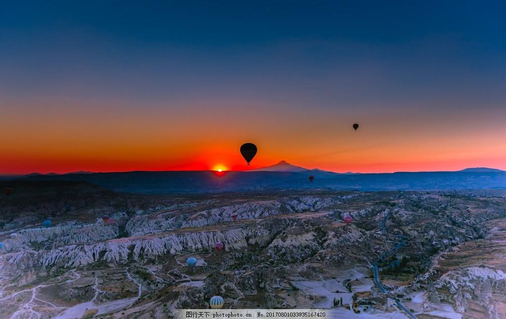 卡帕多西亚 唯美 风景 风光 旅行 自然 土耳其 山谷 摄影 国外旅游