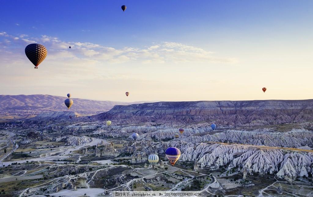 卡帕多西亚 唯美 风景 风光 旅行 自然 土耳其 热气球 浪漫