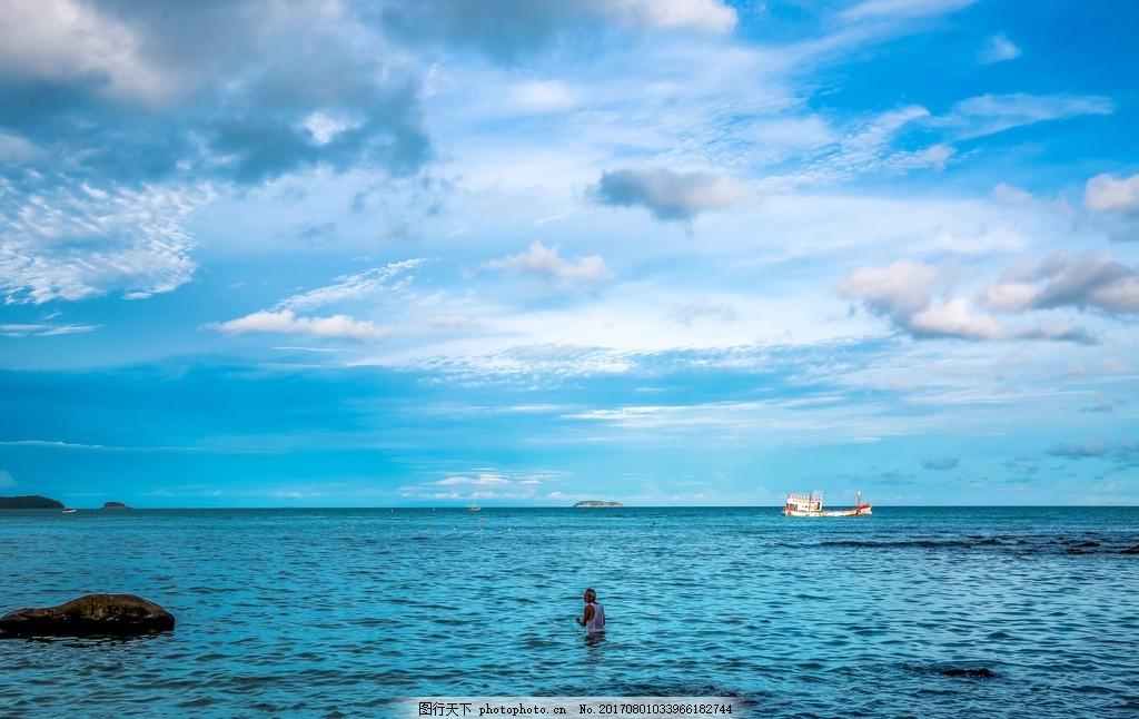 老人与海 泰国 沙美岛 旅行 风光 色彩 城市 摄影 旅游摄影 国外旅游