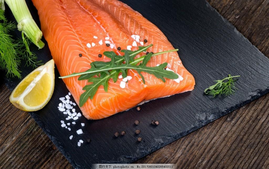 三文鱼 三文鱼刺身 海鲜 三文鱼海鲜 摄影