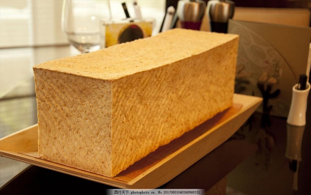 全麦土司 吐司 面包 烘焙 美食 下午茶 营养 健康 早餐 食物