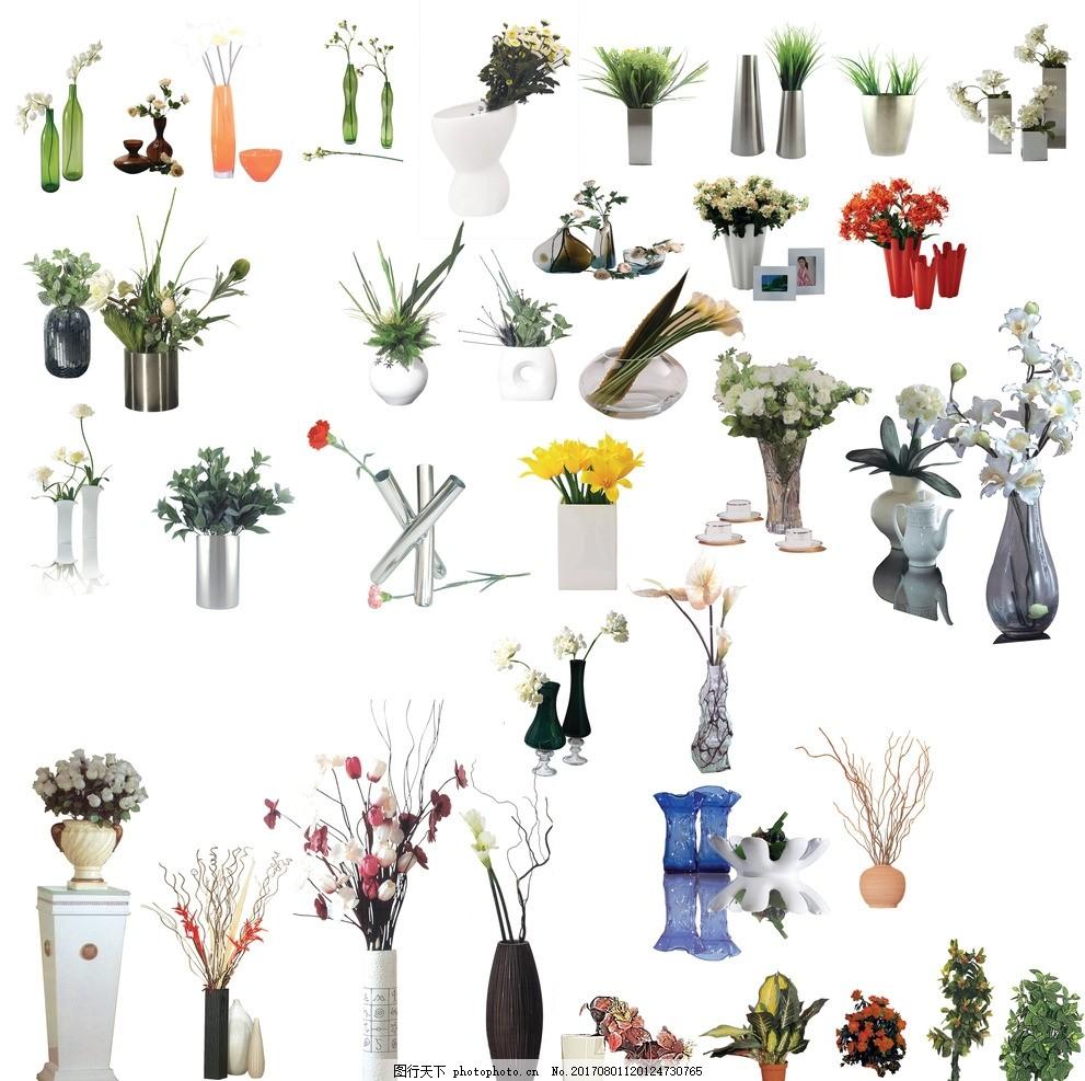 花瓶 歐式花藝 插花 高仿花 仿真花 高檔花藝 永生花 花朵 家居