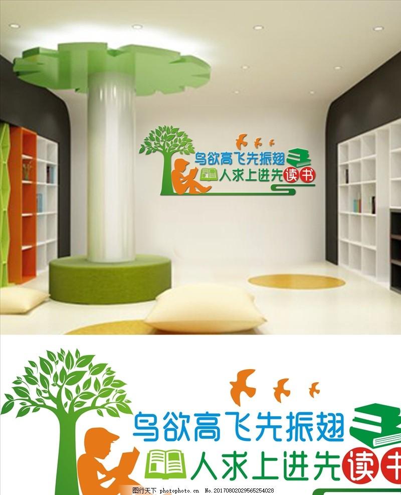 校园文化墙 走访文化 校园文化建设 图书馆文化 阅览室文化节 设计