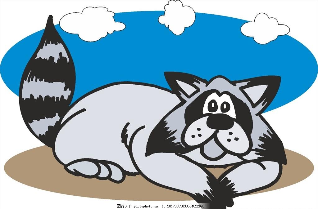 手绘动物 卡通 可爱 动物 幼儿园素材 矢量动物 卡通动物 设计 广告
