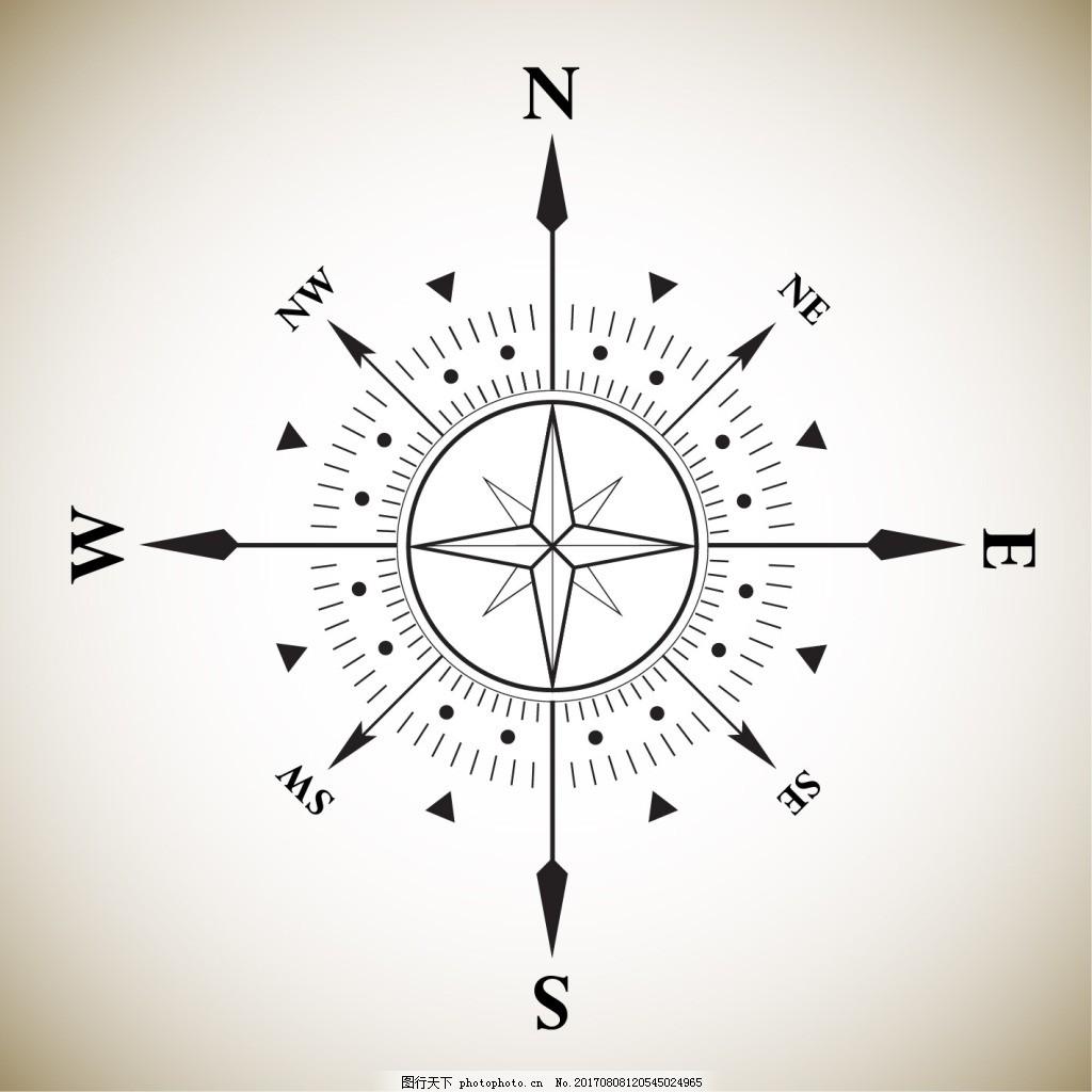 ps指北针图标_指北针元素 矢量 指南针 高清 图标