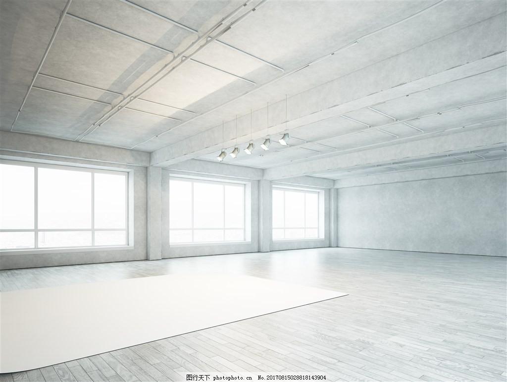 舞台设计装修效果图 舞蹈教室设计 室内 室内设计 室内渲染 室内场景