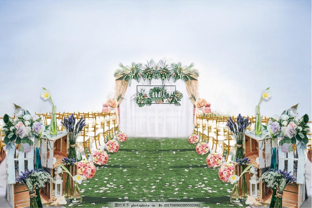 森系户外婚礼